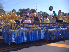 MCC Float at the North Port Parade