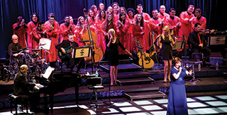 SCF Choir with Susan Boyle 2015