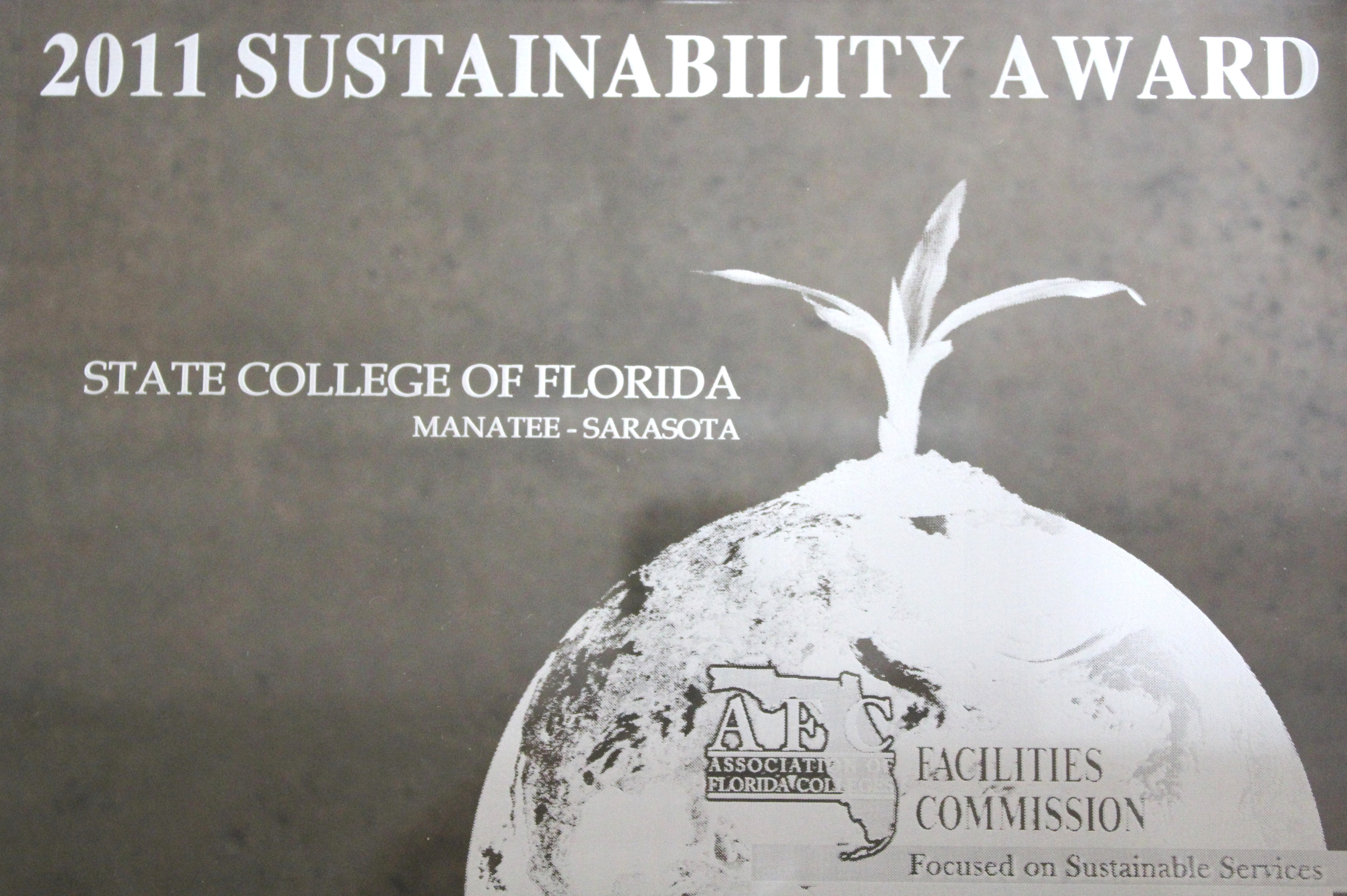 2011 Sustainability Award