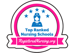 Top Ranked Nursing School Badge