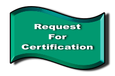Link To Request for CERT