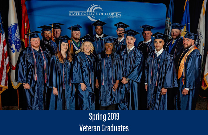 Winter 2018 Veteran Graduates Image